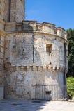 Acquaviva-Schloss. Nardo. Puglia. Italien. Stockbilder