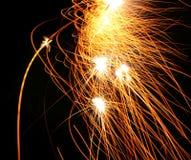 Acquazzone del fuoco Fotografie Stock Libere da Diritti