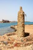 Acquazzone della spiaggia Fotografie Stock
