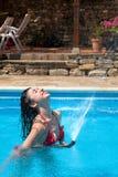 Acquazzone di estate Fotografie Stock Libere da Diritti