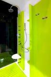 Acquazzone verde Fotografia Stock