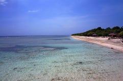 Acque azzurrate incontaminate del mare di Bali Immagine Stock Libera da Diritti