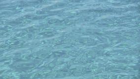 Acque blu di cristallo Fotografia Stock Libera da Diritti