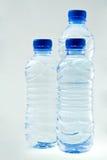 Acque in bottiglia Immagine Stock