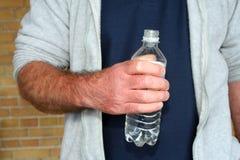 Acque in bottiglia Fotografie Stock