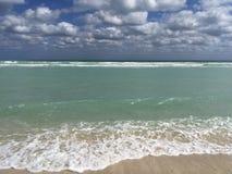 Acque del turchese del golfo del Messico in Florida fotografia stock libera da diritti