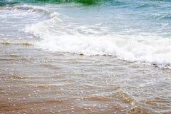 Acque dell'oceano nel New Jersey Immagine Stock Libera da Diritti