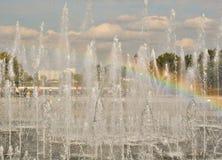 Acque della fontana Immagine Stock Libera da Diritti