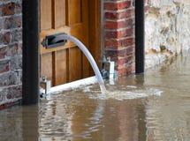 Acque di inondazione Fotografia Stock Libera da Diritti