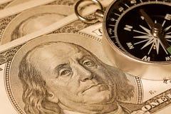 Acque finanziarie di navigazione Fotografie Stock