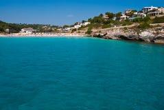 Acque pulite del Mar Mediterraneo, Majorca, Spagna Fotografia Stock Libera da Diritti