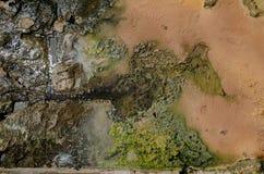 Acque rocciose Fotografia Stock