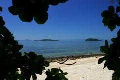 Acque tropicali Fotografia Stock Libera da Diritti
