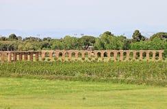 Acquedotto Appio Claudio in Rom Stockbild