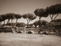 Acquedotto Appio Claudio, Roma Italia Fotografia Stock