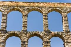 Acqueduct romain à Ségovie près de Madrid, Espagne Image libre de droits