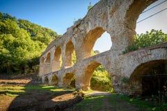 Acqueduct romain Images stock