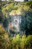 Acqueduct romain Image stock