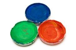 Acquerelli di RGB Immagine Stock