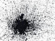 Acquerello astratto spruzzato Fotografia Stock