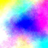 Acquerello - colori della miscela illustrazione vettoriale