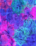Acquerello e fondo digitale della sfuocatura della pittura Immagine Stock