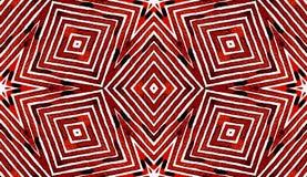 Acquerello geometrico di rosso di vino Modello senza cuciture in modo divertente Bande disegnate a mano Struttura della spazzola  immagine stock