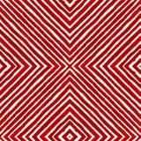 Acquerello geometrico rosso Picchiettio senza cuciture curioso illustrazione vettoriale