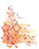 Acquerello, ornamento & fiore royalty illustrazione gratis