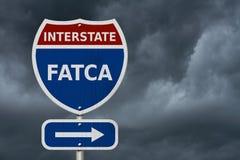 Acquiescement à la Loi étrangère de conformité fiscale de compte des USA image libre de droits