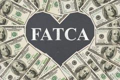 Acquiescement à la Loi étrangère de conformité fiscale de compte des USA photo stock