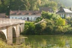 Acquiqny-Dorf Lizenzfreie Stockfotografie