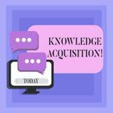 Acquisition de connaissance des textes d'écriture Processus de signification de concept d'extraire la connaissance à partir d'u illustration de vecteur