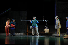The acquisition of raw materials -- Jiangxi opera a steelyard Stock Photo