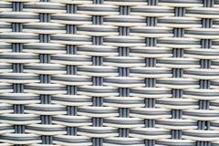 Acquisizione di plastica tessuta Fotografia Stock
