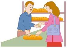 Acquistando nel forno Royalty Illustrazione gratis