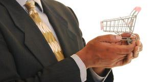 Acquistando per il vostro commercio Immagine Stock Libera da Diritti