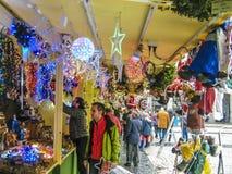 Acquisti di Natale Immagini Stock Libere da Diritti