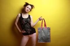 Acquisto alla moda Immagine Stock