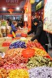 Acquisto cinese di nuovo anno Fotografie Stock Libere da Diritti