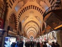 Acquisto a Costantinopoli in Turchia fotografie stock libere da diritti