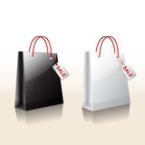 Acquisto della borsa di vendita Fotografia Stock
