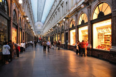 Acquisto di Bruxelles Fotografie Stock Libere da Diritti