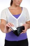 Acquisto di carta di credito Immagini Stock Libere da Diritti