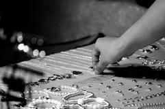 Acquisto di Jewelery Fotografie Stock Libere da Diritti