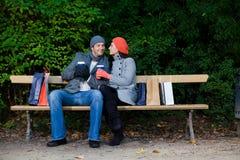 Acquisto di natale di inverno di autunno Fotografia Stock Libera da Diritti