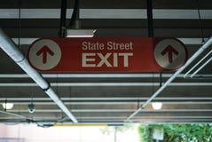 Acquisto di State Street nella stazione atlantica immagine stock