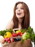 Acquisto di verdure Immagine Stock Libera da Diritti