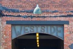 Acquisto e pranzare di Atlanta di Westside Immagine Stock Libera da Diritti