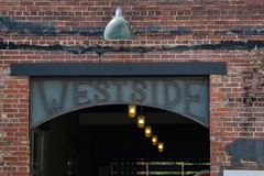 Acquisto e pranzare di Atlanta di Westside Fotografia Stock